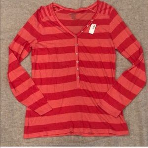 Old Navy Striped Henley